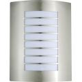 Außenbeleuchtung MEMPHIS 1xE27/60W rostfreier Stahl
