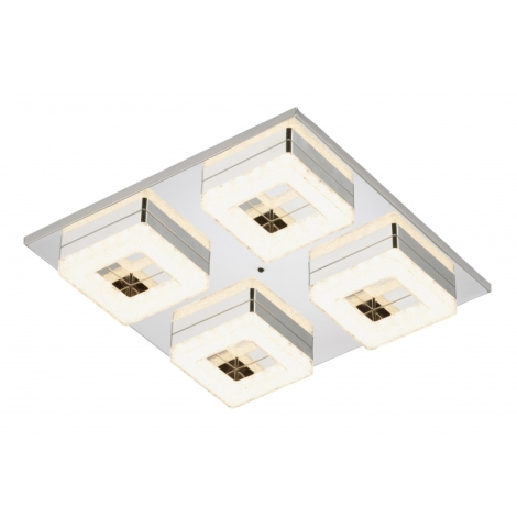 Briloner 3495 048 LED Deckenleuchte DUO 4xLED3,5W