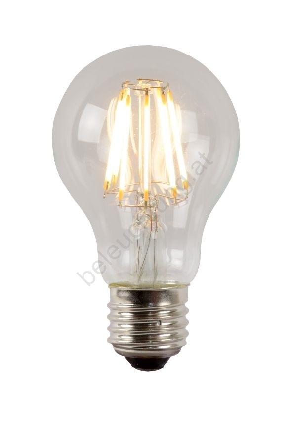 dimmbare led gl hbirne a60 e27 8w 230v lucide 49020 08 60 beleuchtung. Black Bedroom Furniture Sets. Home Design Ideas