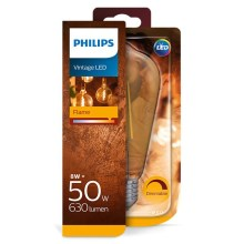 Dimmbare LED Glühbirne Philips E27/8W/230V 2000K