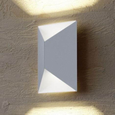 Eglo 54603 - LED Auβen-Wandbeleuchtung PREDAZZO 2xLED/2,5W/230V IP44