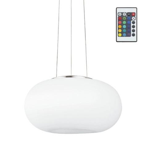 Eglo 75354 - LED RGB Dimmbarer Kronleuchter OPTICA-C 2xE27/7,5W/230V