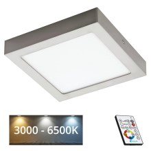 Eglo 78771 - LED Dimmbare Deckenleuchte TINUS 1xLED/21W/230V