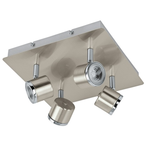 Eglo 93696 - LED Spotlight PIERINO 4xLED/5W/230V