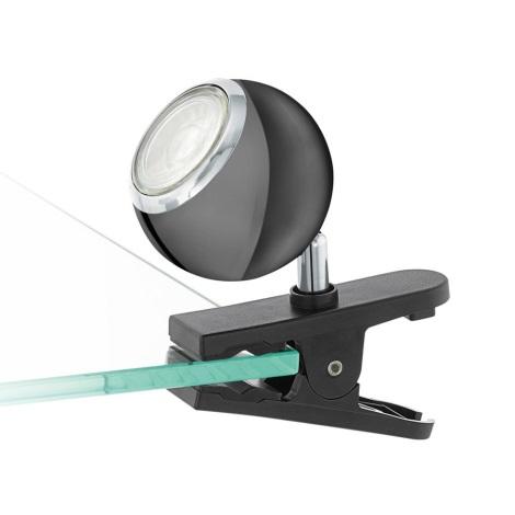 Eglo 96838 - LED Spotlight mit Clip BIMEDA 1xGU10/3,3W/230V schwarz
