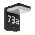 Eglo 98092 - LED Hausnummer mit Sensor AMAROSI LED/11W/230V IP44