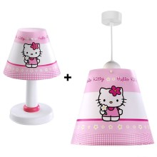 Klik 63244 - Kids Kronleuchter HELLO KITTY E27/60W