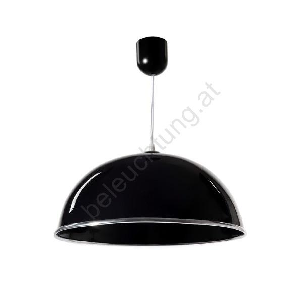Kronleuchter an Seile AKRYL KS 1xE27/60W schwarzer Glanz | Beleuchtung
