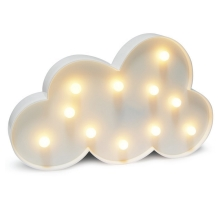 LED Dekorationsleuchte CLOUD LED/2xAA