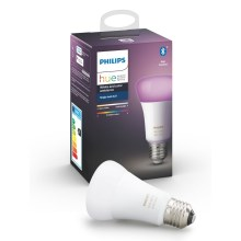 LED Dimmbare Glühbirne Philips HUE WHITE AND COLOR AMBIANCE E27/9W/230V 2000-6500K