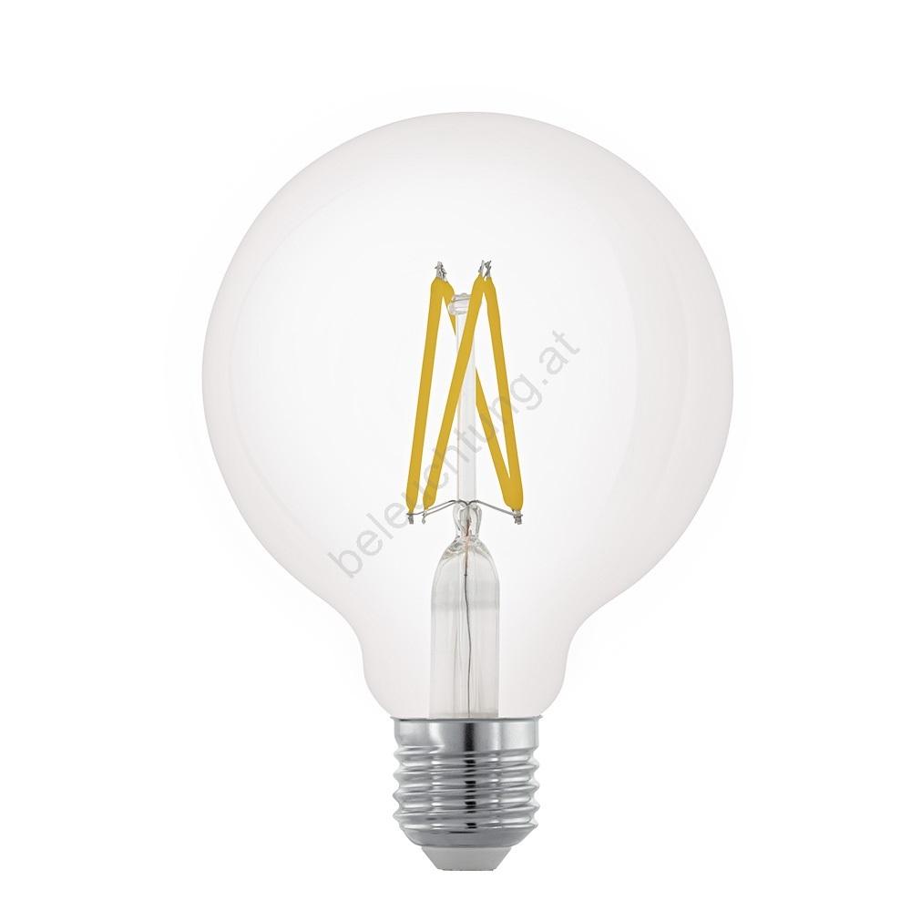 led dimmbare gl hlampe g95 e27 6w eglo 11703 beleuchtung. Black Bedroom Furniture Sets. Home Design Ideas