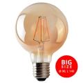 LED Glühbirne LEDSTAR AMBER G95 E27/8W/230V