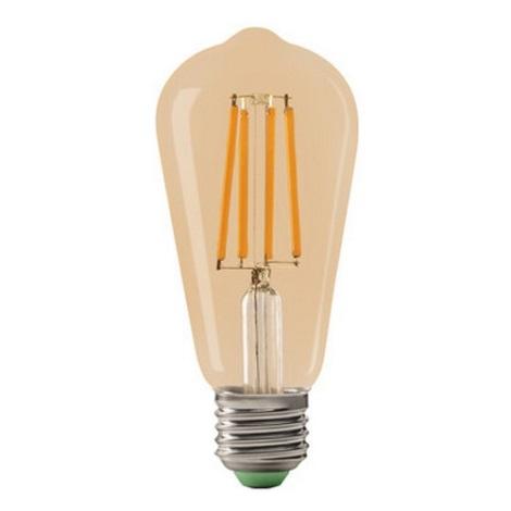 LED Glühbirne LEDSTAR AMBER ST64 E27/10W/230V
