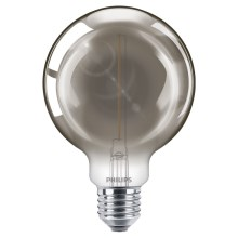 LED Glühbirne SMOKY VINTAGE Philips G93 E27/2,3W/230V 2700K