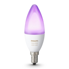 LED RGB dimmbare Glühbirne Philips HUE WHITE AND COLOR AMBIANCE E14/6W/230V 2200-6500K