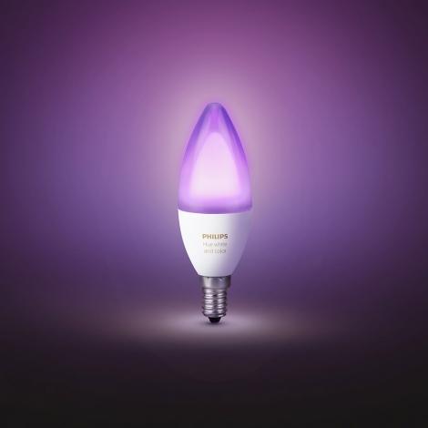 philip hue lampen ambiance color e14