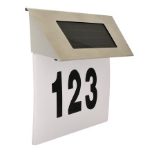 LED Solarhausnummer 1,2V IP44
