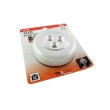 LED Touch Nachtlampe LED/0,2W/3xAAA weiss