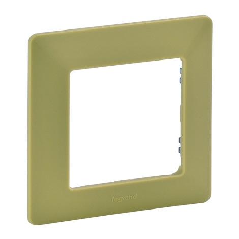 Legrand 754081 - Rahmen für Schalter VALENA LIFE 1P grün