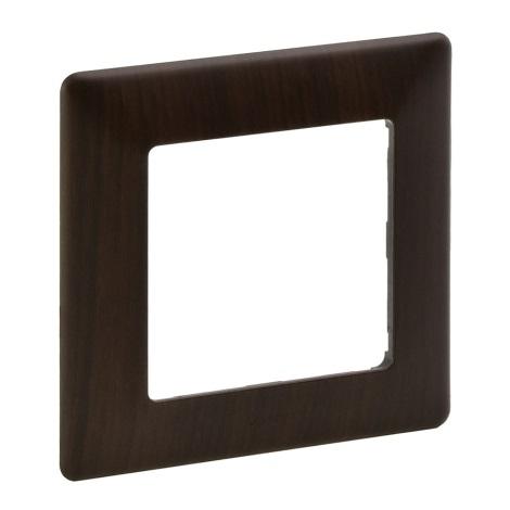 Legrand 754171 - Rahmen für Schalter VALENA LIFE 1P dunkles Holz