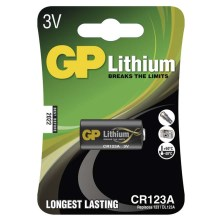 Lithiumbatterie CR123A GP LITHIUM 3V/1400 mAh