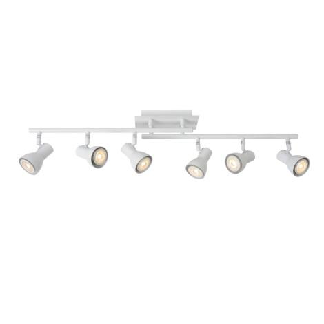 Lucide 17942/30/31 - LED Spotlight LAURA-LED 6xGU10/5W/230V weiss