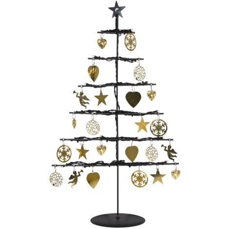 Schwarzer Weihnachtsbaum.Schwarzer Weihnachtsbaum Weihnachten In Europa