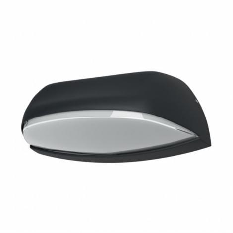 Osram - LED Auβen-Wandbeleuchtung ENDURA LED/12W/230V IP44 schwarz IP44