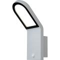 Osram - LED-Wandleuchte für außen mit Sensor ENDURA LED/12W/230V bílá