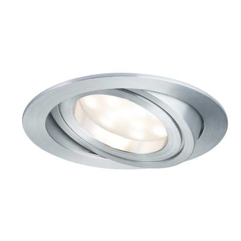 Paulmann 92832 - LED/7W Dimmbare Badezimmer Einbauleuchte COIN 230V