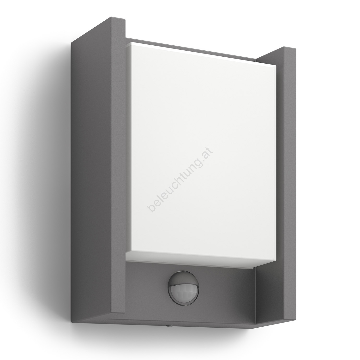 philips 16461 93 p3 led au enleuchte mit sensor mygarden arbour 1xled 6w 230v beleuchtung. Black Bedroom Furniture Sets. Home Design Ideas