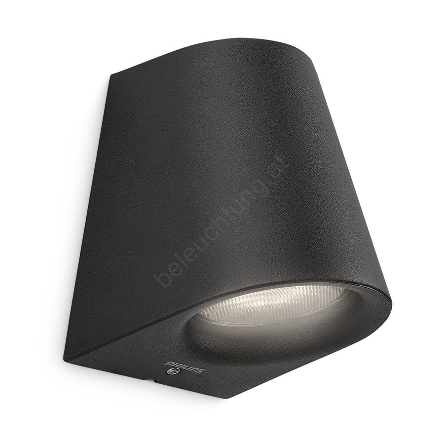 philips 17287 30 16 led au enleuchte mygarden virga 1xled 3w 230v beleuchtung. Black Bedroom Furniture Sets. Home Design Ideas