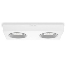 Philips 31212/31/16 - die LED Spotleuchte INSTYLE QUINE 2xLED/4,5W/230V