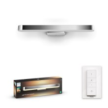 Philips 34177/11/P6 - LED dimmbare Badezimmer-Spiegelbeleuchtung HUE ADORE LED/33,5W/230V IP44