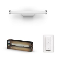 Philips 34183/31/P6 - LED dimmbare Badezimmer-Spiegelbeleuchtung HUE ADORE LED/13W/230V IP44 + Fernbedienung