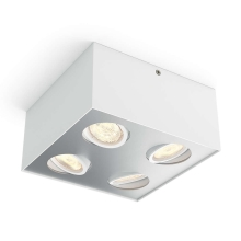 Philips 50494/31/P0 - LED Spotlight MYLIVING BOX 4xLED/4,5W/230V