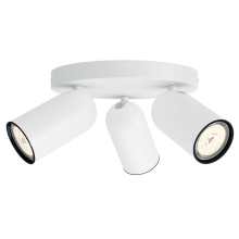 Philips 50583/31/PN - Spotlight MYLIVING PONGEE 3xGU10/5,5W/230V