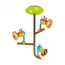 Philips 56313/55/PO – LED Kinder-Spotlight MYKIDSROOM BIRDEY 3xGU10/3,5W/230V