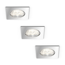 Philips 59007/11/P0 - SET 3x LED Einbauleuchte MYBATHROOM DREAMINESS 3xLED/4,5W/230V