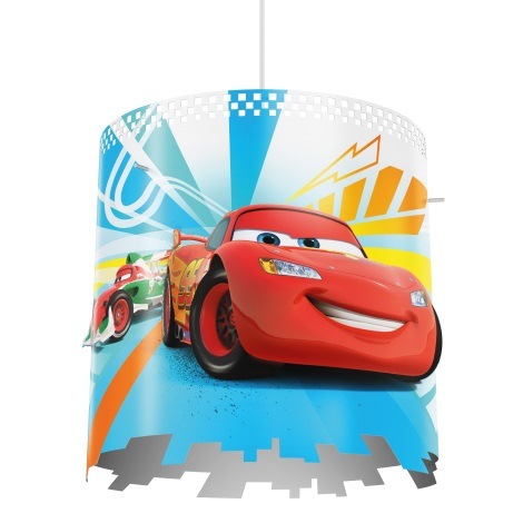 Philips 71751/32/26 - Kinder-Hängeleuchte DISNEY CARS 1xE27/23W/230V