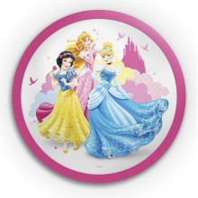 Philips 71760/28/16 - LED Kinder-Wandleuchte DISNEY PRINCESS 1xLED/4W/230V