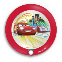 Philips 71765/32/16 - Kinder LED Orientierungsleuchte DISNEY CARS 1xLED/0,06W/3V