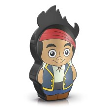 Philips 71767/05/16 - LED Kinder Laterne DISNEY JAKE PIRATE 1xLED/0,3W/2xAAA