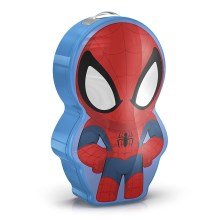 Philips 71767/40/16 - Kinder LED Taschenlampe DISNEY SPIDER-MAN 1xLED/0,3W/3V
