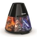 Philips 71769/30/P0 - LED Kinderprojektor DISNEY STAR WARS LED/0,1W/3xAA