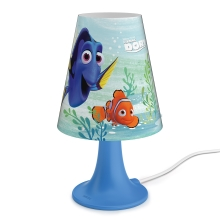 Philips 71795/90/16 - LED Kinderleuchte DISNEY FINDING DORY LED/2,3W/230V