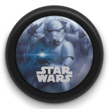 Philips 71924/30/P0 - LED-Kinder-Touch-Licht STAR WARS LED/0,3W/2xAAA