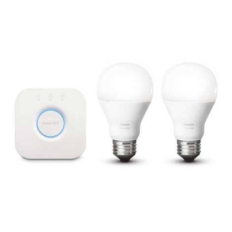 Philips 8718696449554 Basic Set Hue Starter Kit 2xe27 9