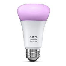 Philips 8718696592984 - LED Dimmbar Glühbirne HUE WHITE AND COLOR AMBIANCE 1xE27/10W/230V