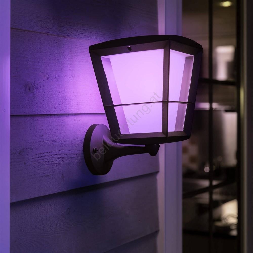 Philips 1743930P7 LED RGB Außen Wandleuchte HUE ECONIC LED15W230V IP44